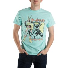 My Hero Academia All Might Faded Print Men's T-Shirt