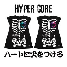 HYPER CORE Set Your Heart on Fire Dolman T-Shirt Dress