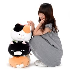 Tsumeru! Mochikko Hige Manjyu 2 Cat Plush Collection (Big)