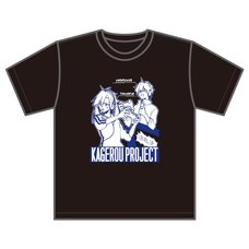 Kagerou Project Sidu Artworks Takane Game Avatar Ver. Black T-Shirt