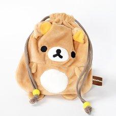 Rilakkuma Plush Drawstring Bags