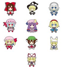 Touhou Project Fumo Fumo Rubber Keychains (Re-release)
