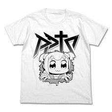 Pop Team Epic Hara Popu White T-Shirt