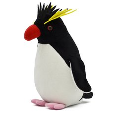 Plush Penguin Collection: Rockhopper Penguin