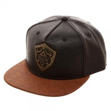 Legend of Zelda Metal Hylian Shield Snapback