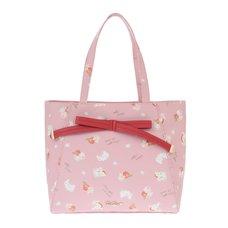 LIZ LISA Apples & Bunnies Tote Bag