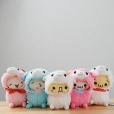Kaomoji Baby Alpacasso Alpaca Plush Collection (Crawling)