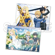 Sword Art Online: Alicization Beginning Clear File Set
