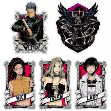 Capcom x B-Side Label Devil May Cry 5 Sticker Collection Vol. 2
