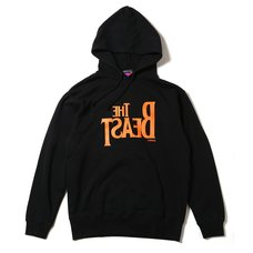Radio Eva 395 The Beast Black x Orange Hoodie β