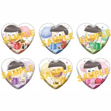 Osomatsu-san Photogenic Party Character Badge Collection Box Set