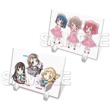Love Live! General Magazine Vol. 2: Love Live! Sunshine!! Aqours Acrylic Plate Collection
