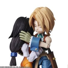 Bring Arts Final Fantasy IX Zidane Tribal & Garnet Til Alexandros XVII Set