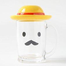 Straw Hat Beer Mug