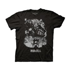 Attack on Titan Season 2 Reiner Braun Titan Form Adult T-Shirt