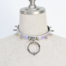 ACDC RAG Hologram Ball Ring Needle Choker