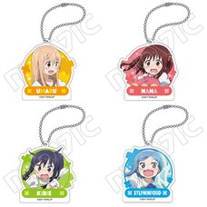 Himouto! Umaru-chan Acrylic Keychain Charm Collection
