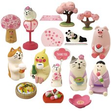 concombre Cherry Blossom Viewing Diorama Collection