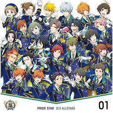 The Idolm@ster: SideM 5th Anniversary Disc 01 Pride Star CD
