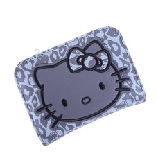 Hello Kitty Grey Leopard Bifold Wallet