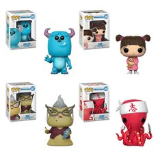 Pop! Disney: Monster's Inc. - Complete Set