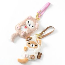 Rilakkuma Motto Nonbiri Neko Pass Cases