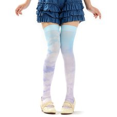 Zettairyoiki Blue Sky Thigh-High Tights