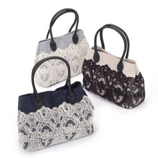 FLAPPER Classical Lace Tote