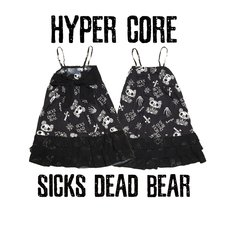 HYPER CORE Sicks Dead Bear Dress