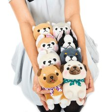 Mameshiba San Kyodai Big Gathering Dog Plush Collection (Standard)