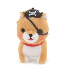 Mameshiba San Kyodai Kaizoku Gokko Dog Plush Collection (Ball Chain)