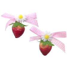 KOKOkim Strawberry & Ribbon Earrings