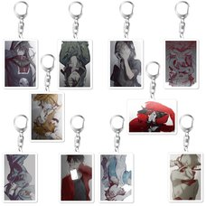Kagerou Project Sidu Artworks Kagerou Days Ver. Acrylic Keychain Collection