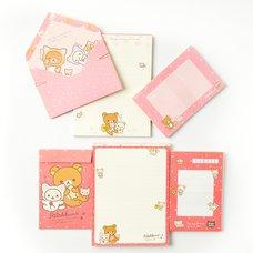 Nonbiri Neko Rilakkuma Letter Set Pack