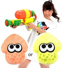 Splatoon Splattershot Water Gun w/ Bonus Splatoon Cushion