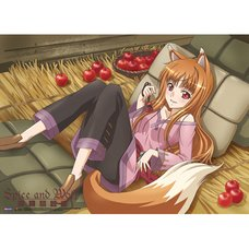 Spice and Wolf Holo with Apple Wall Scroll
