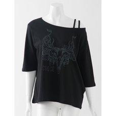 Ozz Croce Buffalo Print T-Shirt