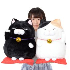 Hige Manjyu Maneki-neko Cat Plush Collection (Big)