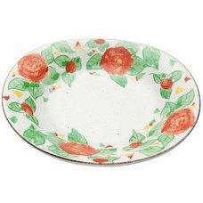 Mino Ware Sasanqua Plate