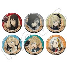 Lord El-Melloi II's Case Files Character Badge Collection Box Set