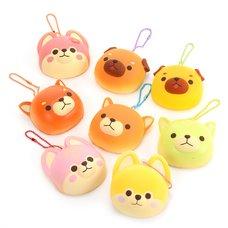 Mameshiba San Kyodai Yakitate Panya-san Fruits Mix Keychain Mascots