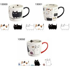 Three Cat Siblings Mugs