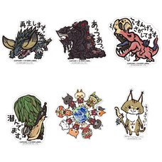Capcom x B-Side Label Monster Hunter: World Stickers