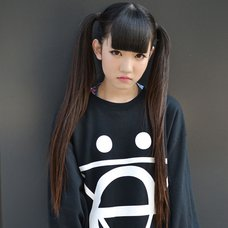 Zigg Symbol Printed Boyfriend Sweatshirt (Cat)