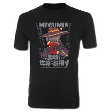 KonoSuba Megumin Men's Screen Print T-Shirt