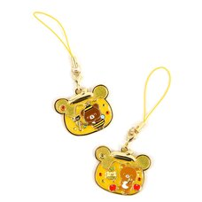 Rilakkuma Harvest Festival in Honey Forest Strap Charms