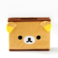 Rilakkuma Fuwaraku Folding Plush Box