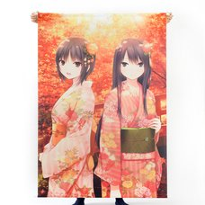 Coffee Kizoku Autumn Colors Poster Girl B0 Tapestry