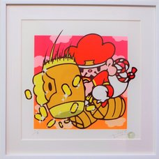 Shibuya Pixel Art Artist Works: Mori Chack Original Art Print