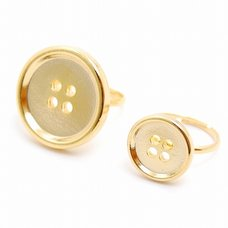Lilou Button Ring
